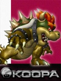 Bowser in Super Smash Bros. Melee.