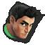 Little Mac's stock icon in Super Smash Bros. for Wii U.