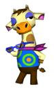 Brawl Sticker Gracie (Animal Crossing WW).png