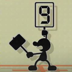 That Elusive 9 event icon.