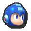 Mega Man's stock icon in Super Smash Bros. for Wii U.