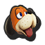 Duck Hunt's stock icon in Super Smash Bros. for Wii U.