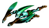 Brawl Sticker Zora Link (Zelda Majora's Mask).png