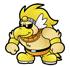 Brawl Sticker Rawk Hawk (Paper Mario TTYD).png