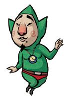 Brawl Sticker Tingle (Zelda Wind Waker).png
