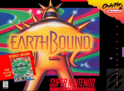 North American box art of EarthBound.