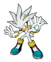 Brawl Sticker Silver The Hedgehog (Sonic The Hedgehog).png