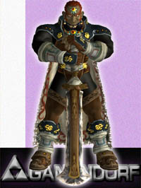 Ganondorf in Super Smash Bros. Melee.