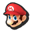 Mario's stock icon in Super Smash Bros. for Wii U.