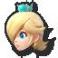 Rosalina and Luma's stock icon in Super Smash Bros. for Wii U.