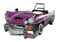Brawl Sticker Wario Car (Mario Kart DD!!).png