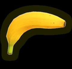 Render of a banana gun from the SSBU website.