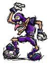 Brawl Sticker Waluigi (Super Mario Strikers).png