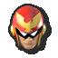 Captain Falcon's stock icon in Super Smash Bros. for Wii U.