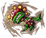 Brawl Sticker Petey Piranha (Mario Strikers Charged).png