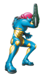 Brawl Sticker Samus (Metroid Fusion).png