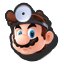 Dr. Mario's stock icon in Super Smash Bros. for Wii U.