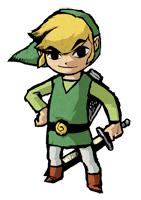Brawl Sticker Link (Zelda Wind Waker).png
