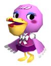 Brawl Sticker Phyllis (Animal Crossing WW).png