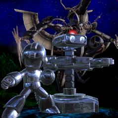 Mechanical Menace event icon.