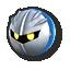 Meta Knight's stock icon in Super Smash Bros. for Wii U.