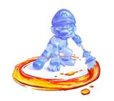 Brawl Sticker Shadow Mario (Super Mario Sunshine).png