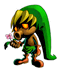 Brawl Sticker Deku Link (Zelda Majora's Mask).png