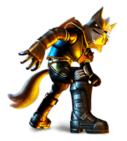 Brawl Sticker Wolf (Star Fox Assault).png