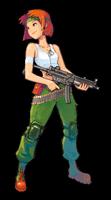 Brawl Sticker Sami (Advance Wars).png