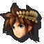 Pit's stock icon in Super Smash Bros. for Wii U.