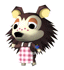 Brawl Sticker Sable (Animal Crossing WW).png