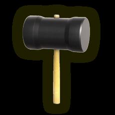Official artwork of a Hammer from the SSBU website.