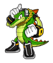 Brawl Sticker Vector The Crocodile (Knuckles' Chaotix).png