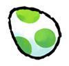 Brawl Sticker Yoshi's Egg (Yoshi Touch & Go).png