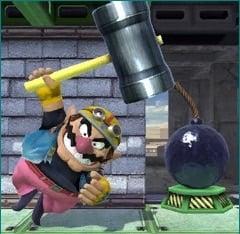 The icon for Wrecking Mario.