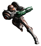 Brawl Sticker Dark Suit Samus (Metroid Prime 2 Echoes).png