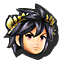 Dark Pit's stock icon in Super Smash Bros. for Wii U.