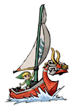 Brawl Sticker King of Red Lions & Link (Zelda WW).png