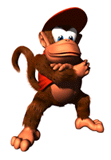Brawl Sticker Diddy Kong (DK64).png