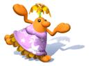 Brawl Sticker Female Pianta (Super Mario Sunshine).png