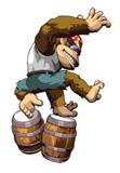 Brawl Sticker Funky Kong (Donkey Konga 3 JP).png