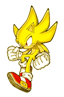 Brawl Sticker Super Sonic (Sonic The Hedgehog 2).png