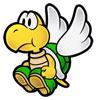 Brawl Sticker Paratroopa (Super Paper Mario).png