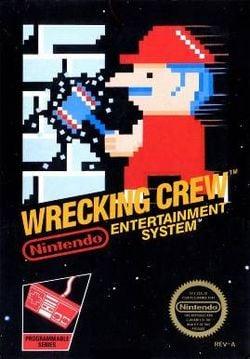 Box art of Wrecking Crew.