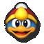 King Dedede's stock icon in Super Smash Bros. for Wii U.