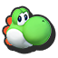Yoshi's stock icon in Super Smash Bros. for Wii U.
