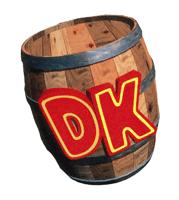 Brawl Sticker DK Barrel (Donkey Kong Country).png