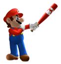 Brawl Sticker Mario (Mario Superstar Baseball).png