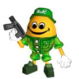 Brawl Sticker Free Ranger (Chibi-Robo Park Patrol).png