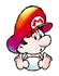 Brawl Sticker Baby Mario (Yoshi's Island).png